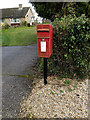 TM0738 : Wenham Road Postbox by Adrian Cable