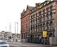 J3474 : Former Riddel's warehouse, Belfast - February 2014 by Albert Bridge