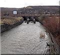 SO0002 : Railway bridge over the Afon Cynon, Aberdare by Jaggery