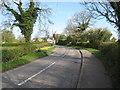 SK1727 : Approaching Hanbury 4-Staffs by Martin Richard Phelan