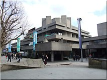 TQ3180 : National Theatre, South Bank by Chris Whippet