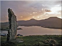 NG2547 : Duirinish Stone, Dunvegan by Richard Dorrell