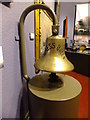 SC3876 : Ships bell from SS Empress Queen by Richard Hoare