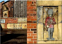 SK3588 : Rescued stonework at Kelham Island Museum by Neil Theasby