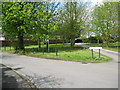 SK1727 : Church Lane, Hanbury 3-Staffs by Martin Richard Phelan