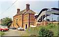 TL8928 : Chappel & Wakes Colne station, 1984 by Ben Brooksbank
