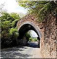 SO7038 : Skewed bridge across Hereford Road, Ledbury by Jaggery
