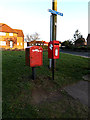 TM4289 : Rigbourne Hill Postbox & Royal Mail Dump Box by Adrian Cable