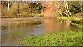 J3268 : The confluence of the Lagan and Minnowburn, Belfast - February 2014 by Albert Bridge