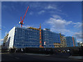 TQ3978 : Greenwich Square, construction nearly complete by Stephen Craven