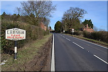 TF8825 : Old Pre-Worboys Sign by Keith Evans
