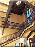 NS5666 : Bute Hall staircase by Thomas Nugent