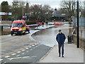 SO8454 : 2014 Worcester floods by Chris Allen
