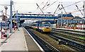 SE5703 : Doncaster station, ECML 1992 by Ben Brooksbank
