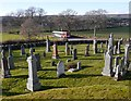 NH5141 : Tomnacross Cemetery by Craig Wallace