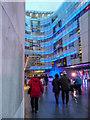 TQ2881 : New BBC Building, Portland Place, London W1 by Christine Matthews
