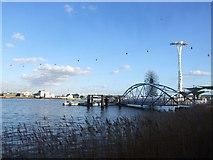 TQ3980 : North Greenwich Pier, Greenwich Peninsula by Chris Whippet