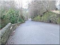 SE0726 : Wood Lane - Long lane by Betty Longbottom