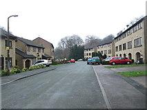SE0726 : Hebble Vale Drive - Wood Lane by Betty Longbottom