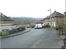 SE0726 : Meadow Lane - viewed from Meadow Drive by Betty Longbottom