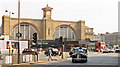 TQ3082 : King's Cross Station, frontage 1989 by Ben Brooksbank