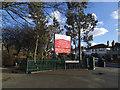TQ4177 : Hornfair Park, south-west entrance by Stephen Craven