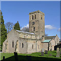 SK5434 : St Mary's Church, Clifton by Alan Murray-Rust