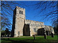 SP9541 : Church of Saints Peter and Paul, Cranfield by Bikeboy