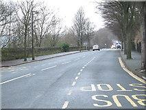 SE0726 : Wheatley Road - viewed from Shroggs Road by Betty Longbottom