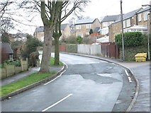 SE0726 : Bracewell Drive - Lee Mount Road by Betty Longbottom