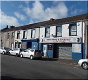 SS7597 : Watkins Welding & Tyre Services, Neath by Jaggery