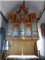 TR3358 : The organ of St. Clement's church, Sandwich by pam fray