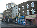 TQ3268 : Shops, Brigstock Road, Thornton Heath by Christopher Hilton