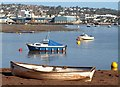 SX9372 : Boats at Shaldon by Derek Harper