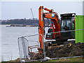 J4982 : Pumping station upgrade, Wilson's Point, Bangor by Rossographer