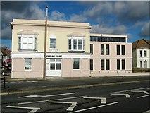 TQ1602 : Shoreline Court formerly The Half Brick Public House by Alex McGregor