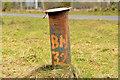 J3478 : Ventilation pipe, Fortwilliam, Belfast by Albert Bridge