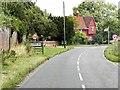 TL7945 : A1092 Entering Cavendish by David Dixon