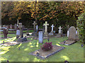 SU8561 : The Cemetery at the Royal Military Academy, Sandhurst by Siobhan Brennan-Raymond