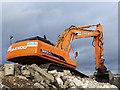 NO4029 : Daewoo 340LCV excavator by William Starkey