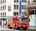 J3374 : Fire appliance, Belfast (February 2014) by Albert Bridge