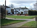 TL1115 : Houses off Luton Road (A1081) by JThomas