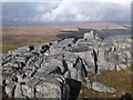 SO0610 : Gritstone pavement by Alan Bowring
