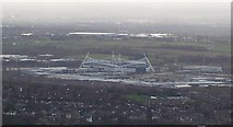 SD6409 : The Reebok Stadium from Rivington Pike by Anthony Parkes