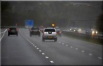 ST0207 : Mid Devon : The M5 Motorway by Lewis Clarke