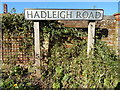 TL9739 : Hadleigh Road, Calais Street by Hamish Griffin