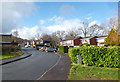 ST1592 : Houses along Coed-Y-Pia by Des Blenkinsopp