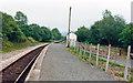 SN8040 : Cynghordy station, 1986 by Ben Brooksbank
