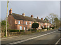 SK2629 : Railway Cottages, Etwall Road by Alan Murray-Rust