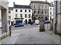 H4572 : Entry from Strule Arts Centre at High Street, Omagh by Kenneth  Allen